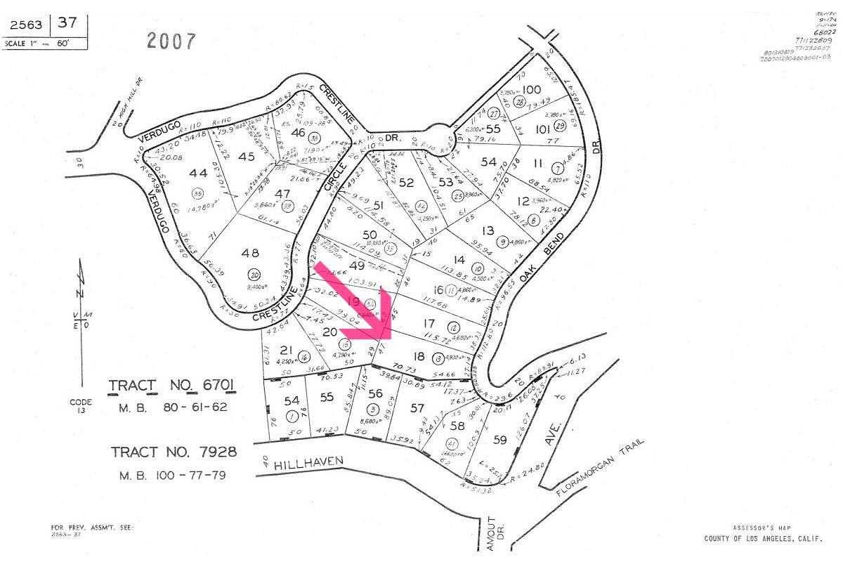Tujunga CA land for sale